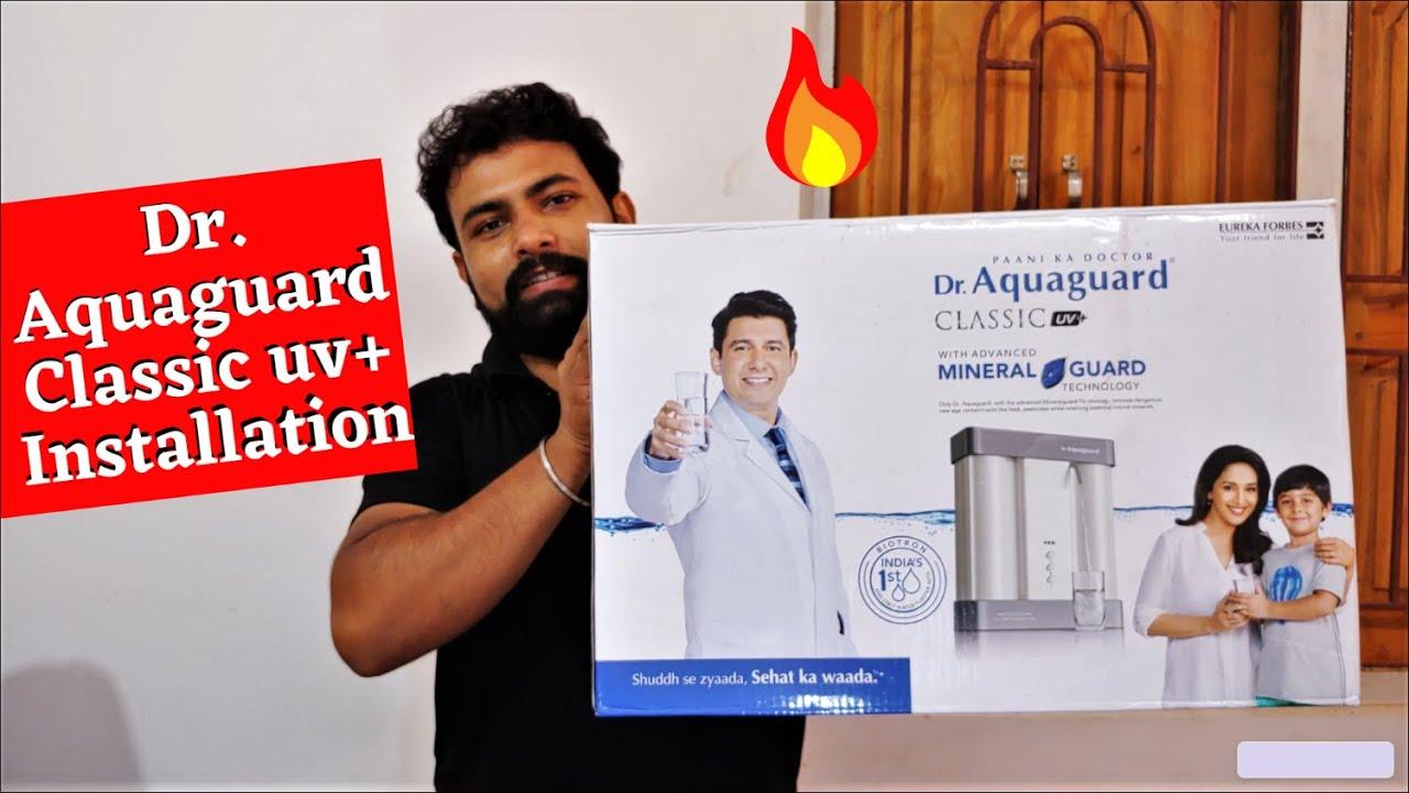Dr. Aquaguard Classic uv+ Installation || Dr. Aquaguard Classic Price || Aquaguard Water Purifier ||