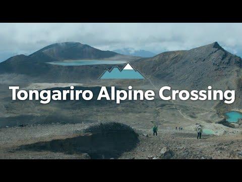 The Tongariro Alpine Crossing: Alpine Tramping (Hiking) Series | New Zealand