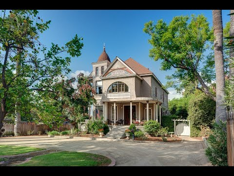 The Berns Team Presents 255 N. Mayflower in Monrovia, CA - Historical Mills Act Victorian Beauty