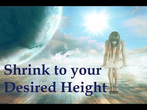 Decrease your height proportionally   Subliminal Affirmations + Frequencies