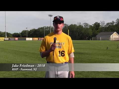 Jake Friedman - RHP - Fanwood, NJ - 2018