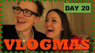 Vlog Panic | DAY 20 | VLOGMAS 2016