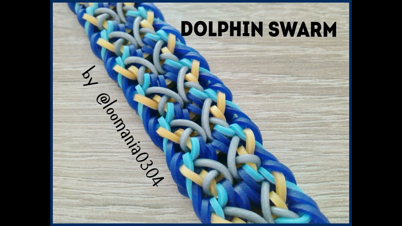 Rainbow loom dolphin - photo#29