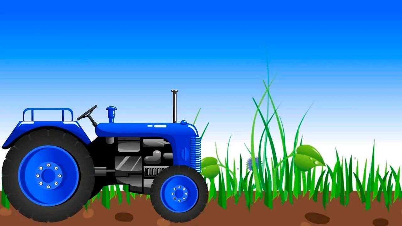 Картинка анимация трактор, открытки