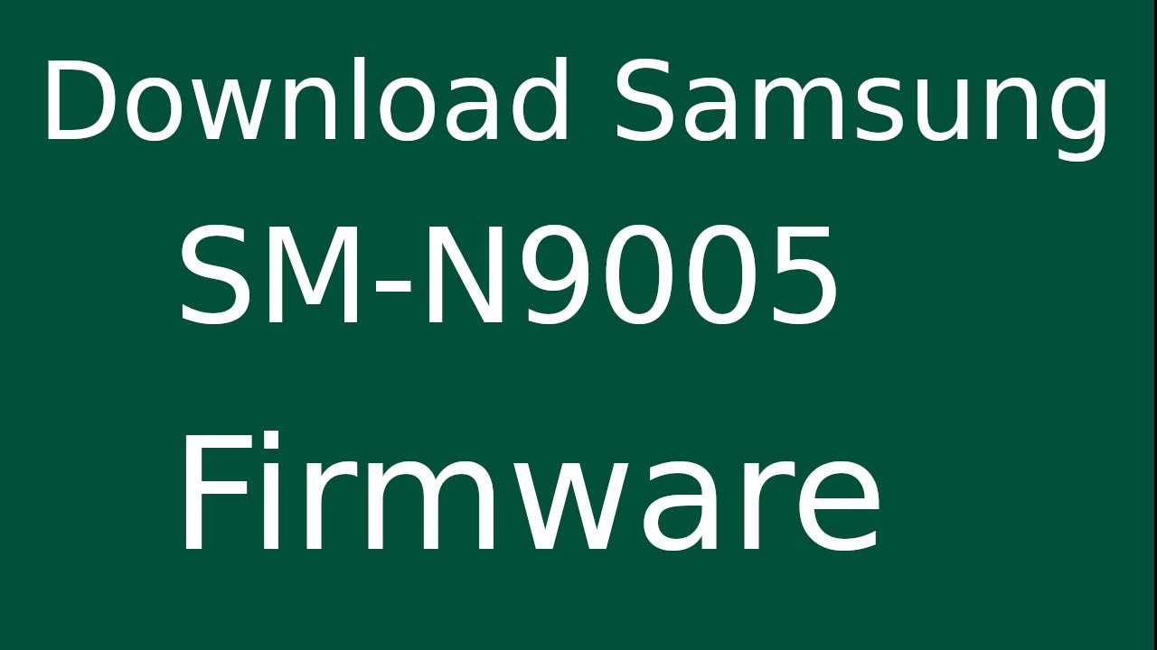 How To Download Samsung GALAXY NOTE 3 SM-N9005 Stock Firmware (Flash