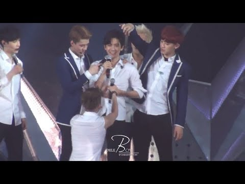 [HD Fancam] 140602 EXO Baekhyun 'Kkaebsong' Funny Moment at The Lost Planet in Hong Kong