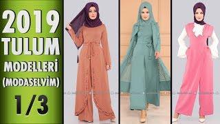ModaSelvim Tesettür Tulum Modelleri 2019 - 1/3 | #Hijab #Jumpsuit | #modaselvim #tesettür #tulum