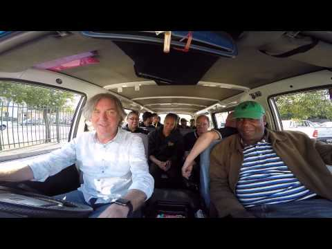 Top Gear's James May takes Johannesburg taxi for a spin