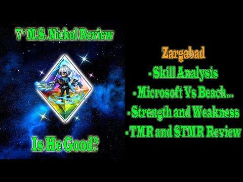 FFBE Global 7 Stars Maritime Strategist Nichol Review: Zargabad..(#639)