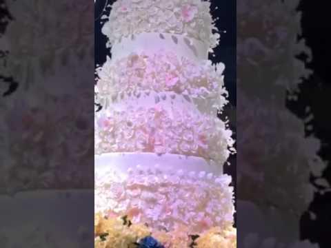 Sheikh Khalifa Bin Zayed Al Nahyan of dubai Daughter's wedding Cake