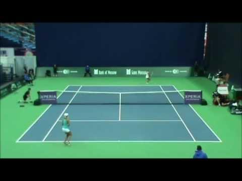 Kremlin Cup 2012. An. Rodionova vs. E. Bychkova