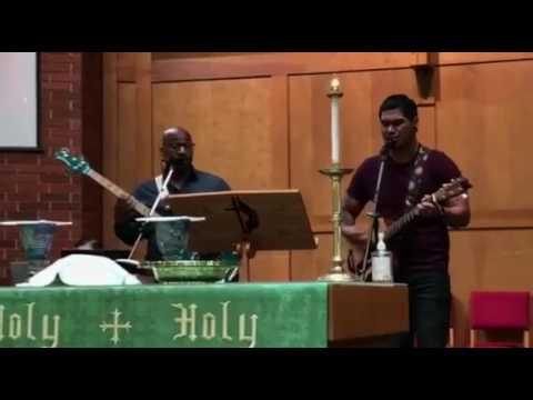Consuming Fire (Hillsong) - Trinity UMC - Baptism song (Paolo & Jason) 8/6/2017