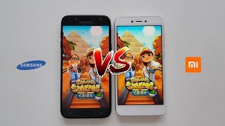 Samsung Galaxy J5 2017 vs. Xiaomi Redmi 5A - Speed Test - Which is faster?