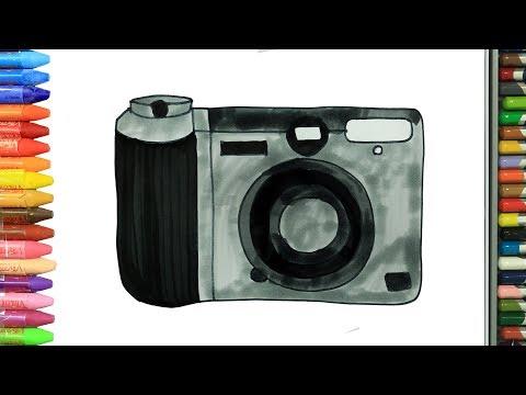 Как нарисовать камера