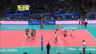 USA Women's Volleyball World Championships vs CHINA [Finals] Highlights