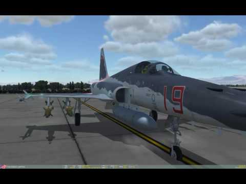 DCS: F-5E & OA-10C, buddy lasing streaming
