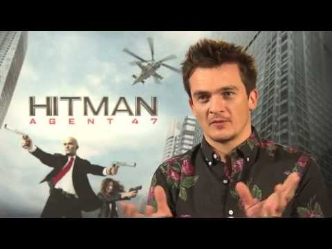 HITMAN: AGENT 47 Rupert Friend Interview - HOMELAND - Videogame