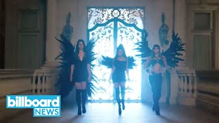 Ariana Grande, Miley Cyrus & Lana Del Rey Are Angels in Collaboration Teaser | Billboard News