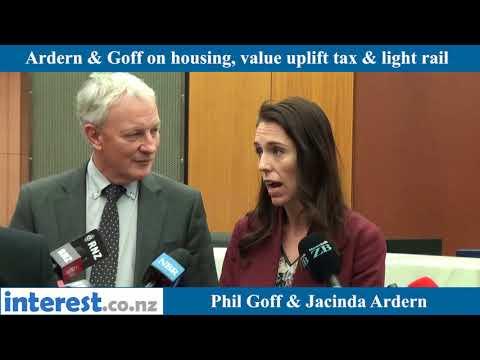 Jacinda Ardern meets Phil Goff