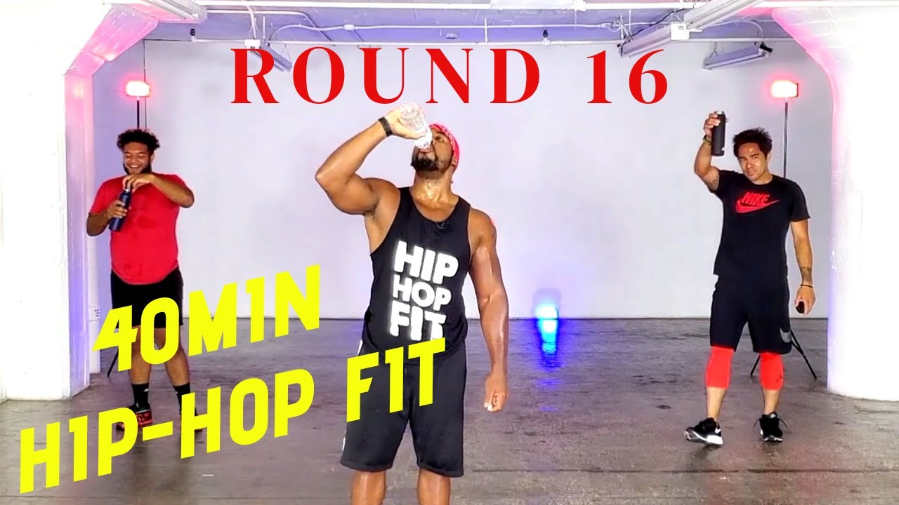 "40min Hip-Hop Fit Dance Workout ""Round 16"" 