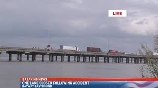 Three injured in Bayway wreck that halts traffic for hours - NBC 15 News WPMI Video