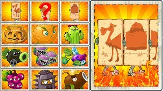 Plants vs Zombies 2 Long Camel Zombie vs All Plants Power UP - How to Defeat Ancient Zombie ?