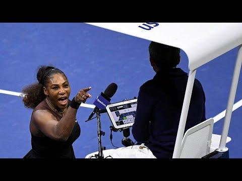 Serena Williams es multada con 17.000 dólares y denuncia sexismo en el tenis
