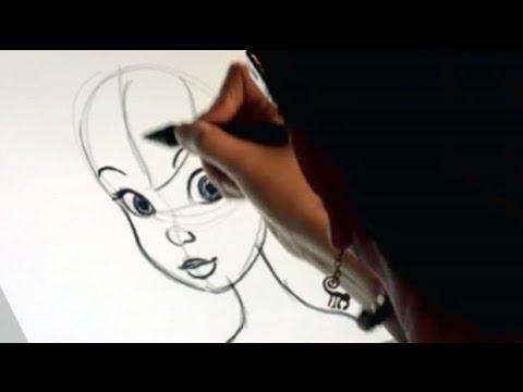 Dessiner la f e clochette hellokids youtube - Dessin anime de fee clochette ...
