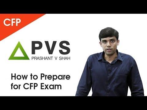 How to Prepare for CFP Exam   Prashant V Shah