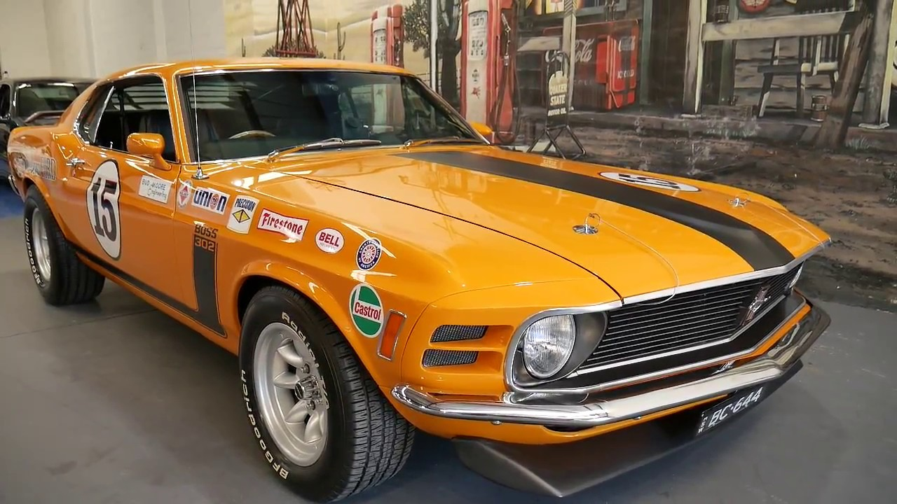 Parnelli Jones Mustang