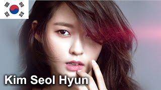 Kim Seol Hyun, one of the most beautiful Korean female stars