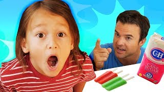 Johny Johny Yes Papa | SURPRISE! | Surprise for Daddy | Family Fun