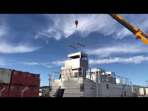 Offshore Module Air Conditioning Unit Installation at OEG Offshore