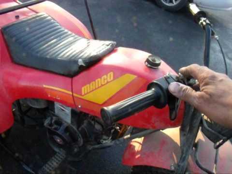 JACKSHAFT JONNY'S MANCO QUESTER 310 ATV THREE WHEELER - YouTube