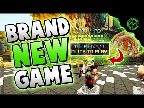 HYPIXEL'S BRAND NEW PVP GAMEMODE + FIRST REACTION! ( The Pit )
