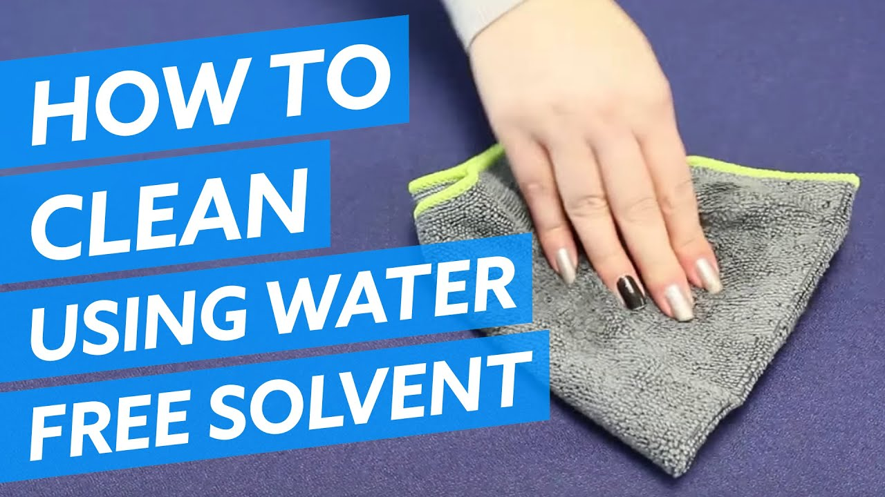 How To Clean Office Furniture With A Water Free Solvent