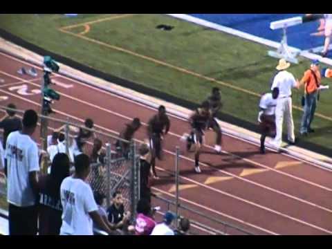 Trevon Caudle-Bobby Layne 100m lane 4
