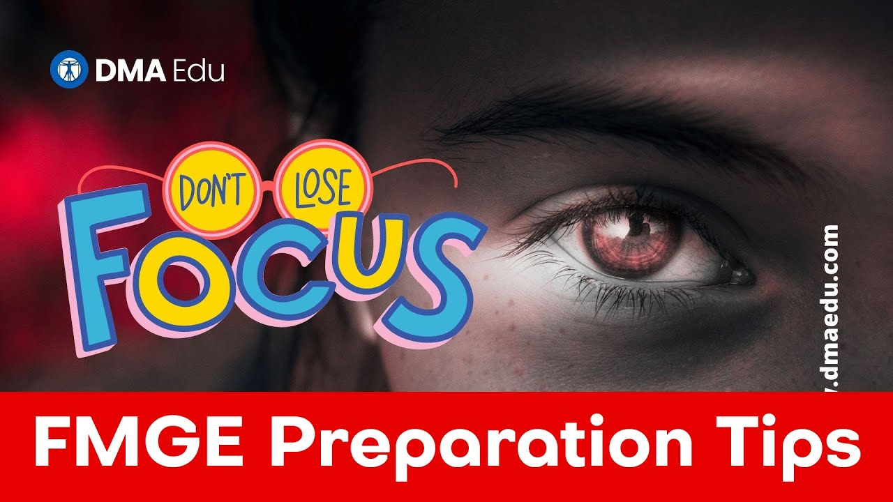 How to Stay Focused during FMGE preparation?