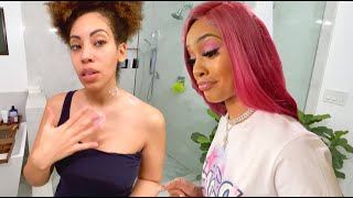 Wifey Has the CHICKEN POX?! Wtf + Saweetie is HUNGRY!