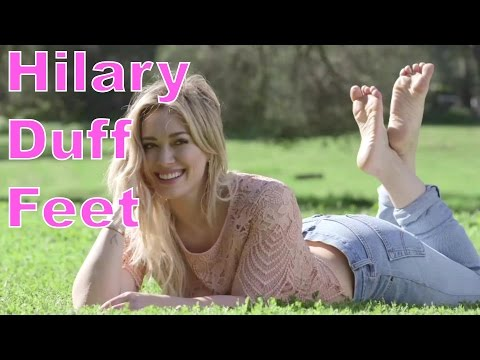 Hilary Duff's Feet