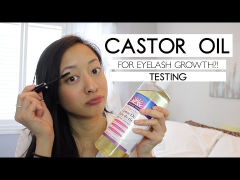 TESTING | Castor Oil for Hair Growth (Eyelashes & Eyebrows)