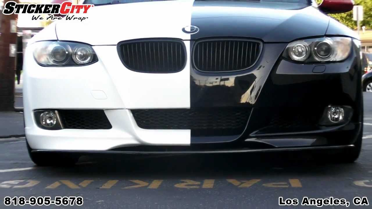 Two Faced BMW 3 Series Wrap By Sticker City