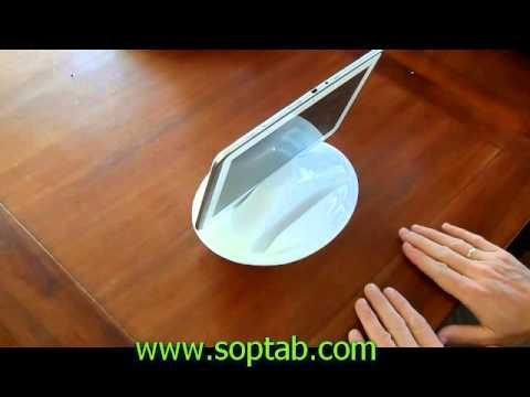 Bedegg soporte de cama sofa para ipad tablet y ebook - Soporte tablet cama ...