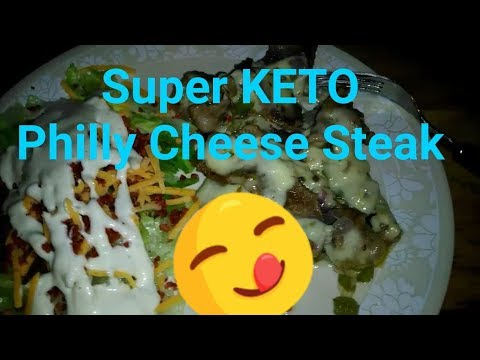 super-keto-philly-cheese-steak!