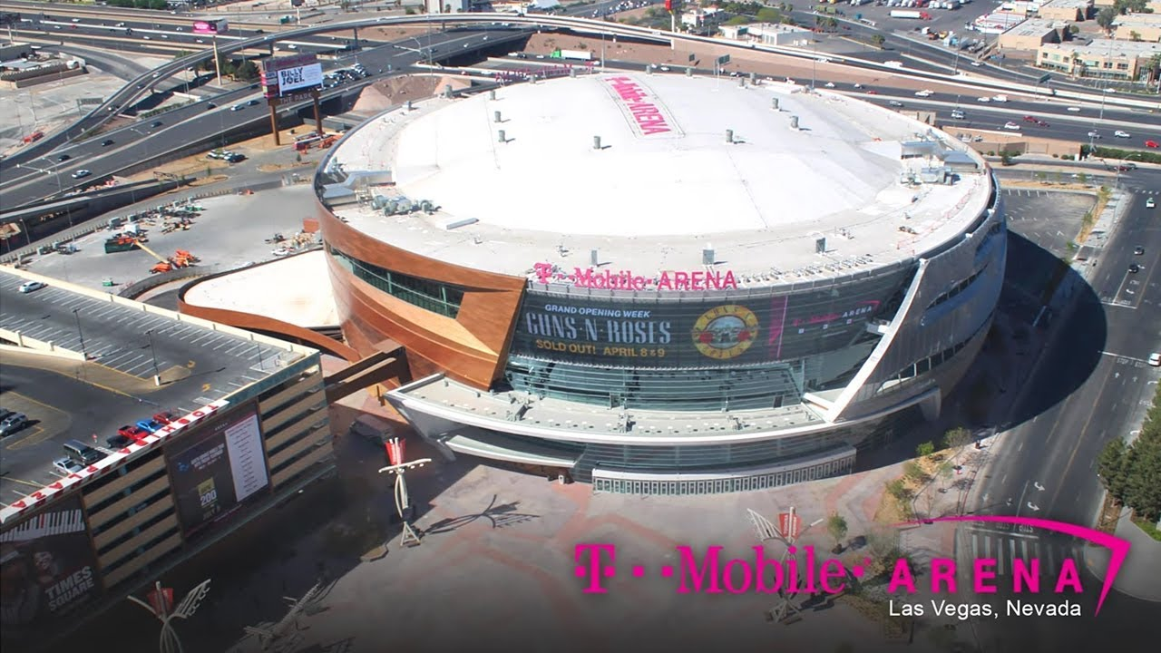 Official T Mobile Arena Construction Time Lapse Youtube