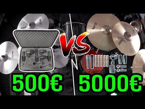 Cheap Vs Expensive Mic Setup | 500 € Vs 5000 € Comparison