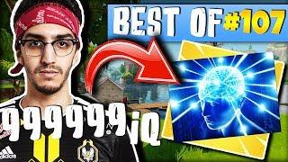 ADZ 999999 IQ 😂► BEST OF FORTNITE FRANCE #107