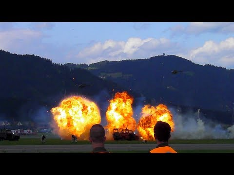 Austrian Airforce blowin