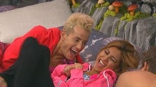 Big Brother - Tickle Fight! - Live Feed Clip