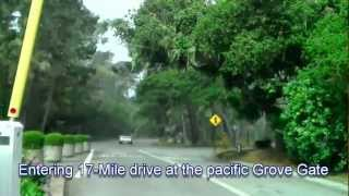 CA July 2012 trip: 17-mile drive Monterey - timelapse